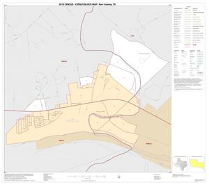 Primary view of object titled '2010 Census County Block Map: Kerr County, Inset A01'.