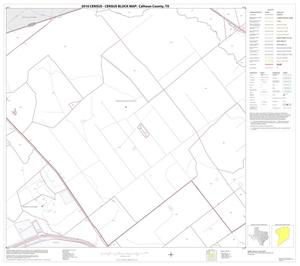 Primary view of object titled '2010 Census County Block Map: Calhoun County, Block 7'.