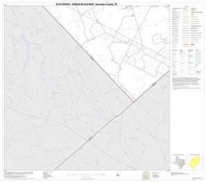 Primary view of object titled '2010 Census County Block Map: Gonzales County, Block 22'.