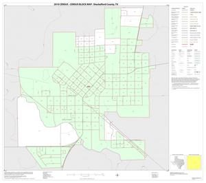 Primary view of object titled '2010 Census County Block Map: Shackelford County, Inset A01'.