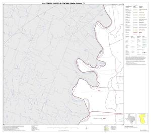 Primary view of object titled '2010 Census County Block Map: Waller County, Block 7'.