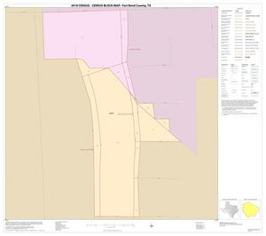 Primary view of object titled '2010 Census County Block Map: Fort Bend County, Inset C01'.