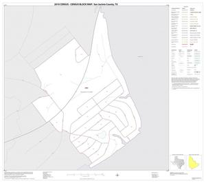 Primary view of object titled '2010 Census County Block Map: San Jacinto County, Inset A01'.