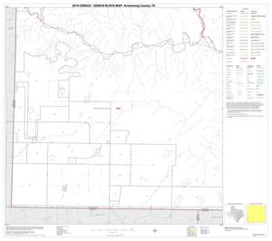 Primary view of object titled '2010 Census County Block Map: Armstrong County, Block 8'.