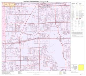 Primary view of object titled '2010 Census County Block Map: Tarrant County, Block 47'.