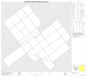 Primary view of object titled '2010 Census County Block Map: Fisher County, Inset D01'.