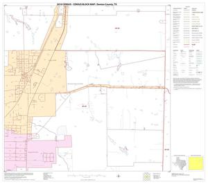 Primary view of object titled '2010 Census County Block Map: Denton County, Block 28'.