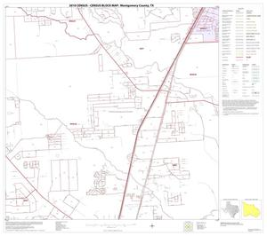 Primary view of object titled '2010 Census County Block Map: Montgomery County, Block 40'.