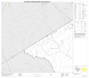 Primary view of object titled '2010 Census County Block Map: Burleson County, Block 4'.