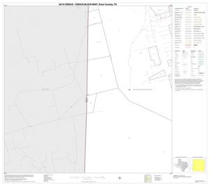 Primary view of object titled '2010 Census County Block Map: Ector County, Block 9'.