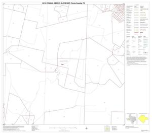 Primary view of object titled '2010 Census County Block Map: Pecos County, Block 8'.