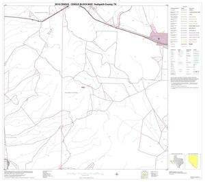 Primary view of object titled '2010 Census County Block Map: Hudspeth County, Block 22'.