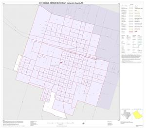 Primary view of object titled '2010 Census County Block Map: Comanche County, Inset A01'.