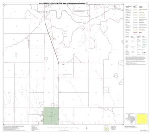 Primary view of object titled '2010 Census County Block Map: Collingsworth County, Block 11'.