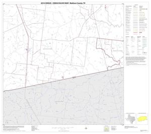 Primary view of object titled '2010 Census County Block Map: Madison County, Block 12'.