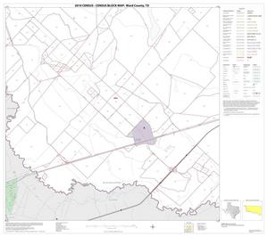 Primary view of object titled '2010 Census County Block Map: Ward County, Block 8'.