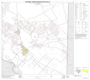 Primary view of object titled '2010 Census County Block Map: Ward County, Block 16'.