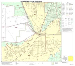 Primary view of object titled '2010 Census County Block Map: Tarrant County, Block 42'.