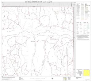 Primary view of object titled '2010 Census County Block Map: Roberts County, Block 2'.