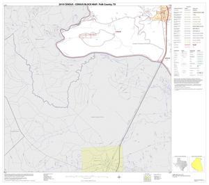 Primary view of object titled '2010 Census County Block Map: Polk County, Block 23'.