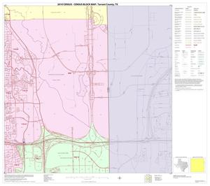 Primary view of object titled '2010 Census County Block Map: Tarrant County, Block 24'.