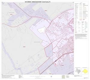 Primary view of object titled '2010 Census County Block Map: Comal County, Inset C01'.
