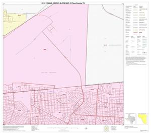 Primary view of object titled '2010 Census County Block Map: El Paso County, Block 35'.