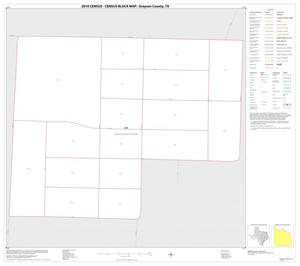 Primary view of object titled '2010 Census County Block Map: Grayson County, Inset C01'.