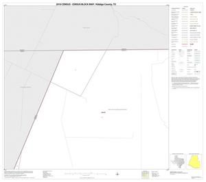 Primary view of object titled '2010 Census County Block Map: Hidalgo County, Block 1'.