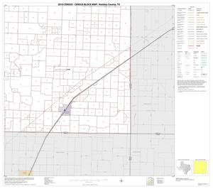 Primary view of object titled '2010 Census County Block Map: Hockley County, Block 9'.