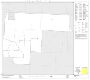 Primary view of object titled '2010 Census County Block Map: Borden County, Inset B01'.