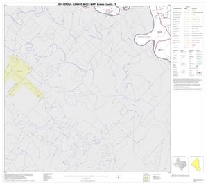 Primary view of object titled '2010 Census County Block Map: Brazos County, Block 14'.