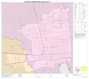 Primary view of object titled '2010 Census County Block Map: Orange County, Inset C01'.