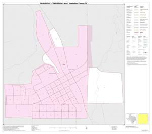 Primary view of object titled '2010 Census County Block Map: Shackelford County, Inset B01'.