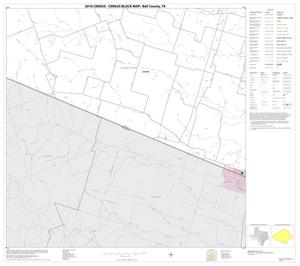 Primary view of object titled '2010 Census County Block Map: Bell County, Block 27'.