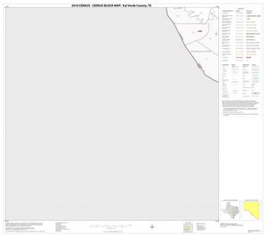 Primary view of object titled '2010 Census County Block Map: Val Verde County, Block 74'.