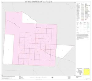 Primary view of object titled '2010 Census County Block Map: Howard County, Inset C01'.