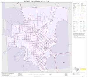 Primary view of object titled '2010 Census County Block Map: Marion County, Inset D01'.