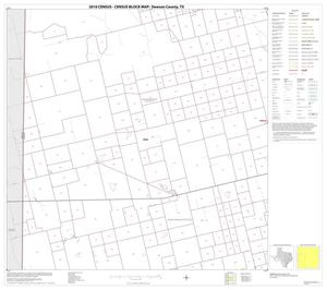 Primary view of object titled '2010 Census County Block Map: Dawson County, Block 4'.
