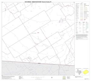 Primary view of object titled '2010 Census County Block Map: Navarro County, Block 26'.