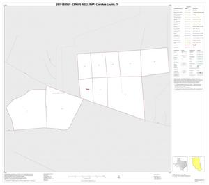 Primary view of object titled '2010 Census County Block Map: Cherokee County, Inset C01'.