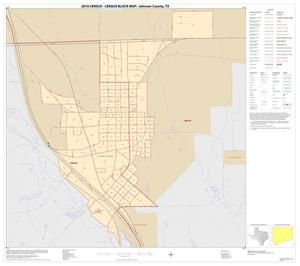 Primary view of object titled '2010 Census County Block Map: Johnson County, Inset I01'.
