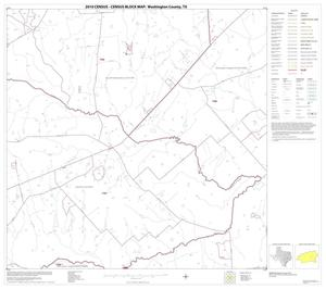 Primary view of object titled '2010 Census County Block Map: Washington County, Block 18'.