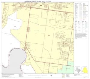 Primary view of object titled '2010 Census County Block Map: Hidalgo County, Block 96'.