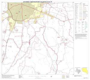 Primary view of object titled '2010 Census County Block Map: Nacogdoches County, Block 12'.