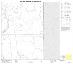 Primary view of object titled '2010 Census County Block Map: Uvalde County, Block 12'.