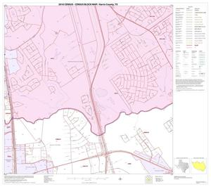 Primary view of object titled '2010 Census County Block Map: Harris County, Block 52'.