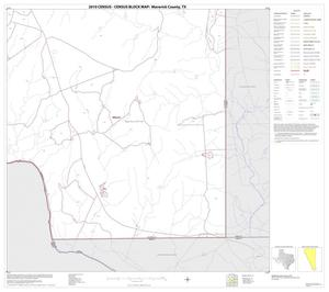 Primary view of object titled '2010 Census County Block Map: Maverick County, Block 22'.