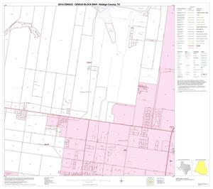 Primary view of object titled '2010 Census County Block Map: Hidalgo County, Block 64'.