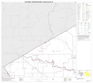Primary view of object titled '2010 Census County Block Map: Comanche County, Block 3'.